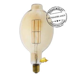 Edi-LED HOYER® Big Macara Lampe 11W-DIM 240V BMA180/365 E40 Gold finish