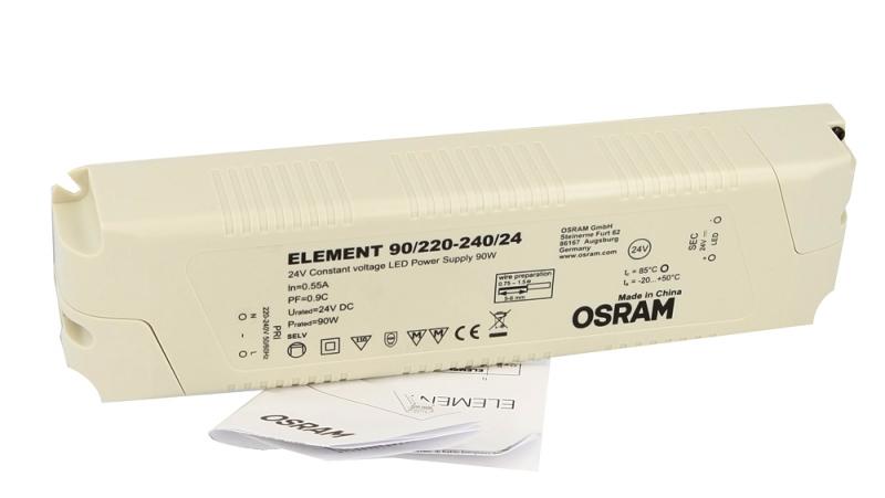HOYER® Dimmer-Cable EURO 50-25 -schwarz, Gesamtlänge 50 cm, Dimmeinheit in der Kabelmitte