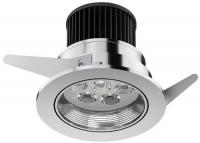Osram LED Einbauleuchte Ivios 4.5 W, chrom