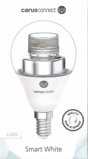 Carus Connect E14 560 Lumen Smart White clear
