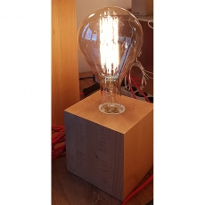 Edi-LED HOYER® Holzsockel Buche1x1