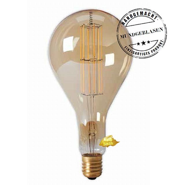 Edi-LED HOYER® Big Drop Lampe 11W-DIM 240V BDR160/320 E40 Gold finish