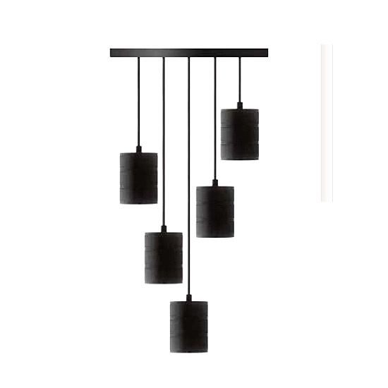 Edi-LED HOYER® E40 5er Lampenfassung für Deckenabhängung